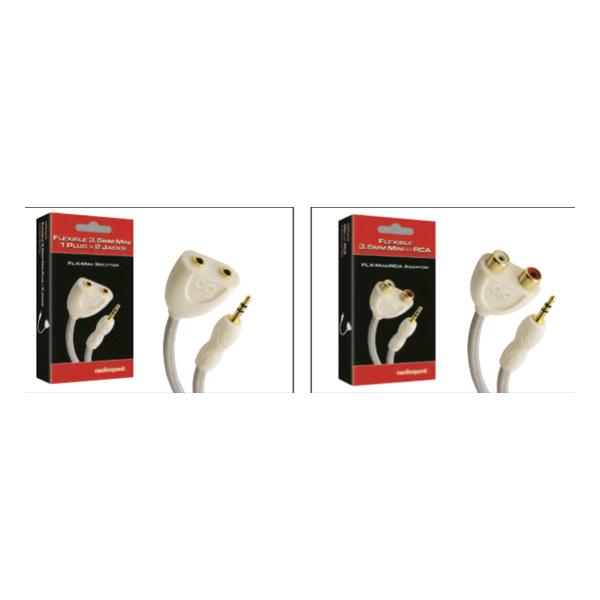 AudioQuest FLX-Mini Splitter FLX-RCA Splitter / Διαιρετές RCA ή Mini 1 τεμ.