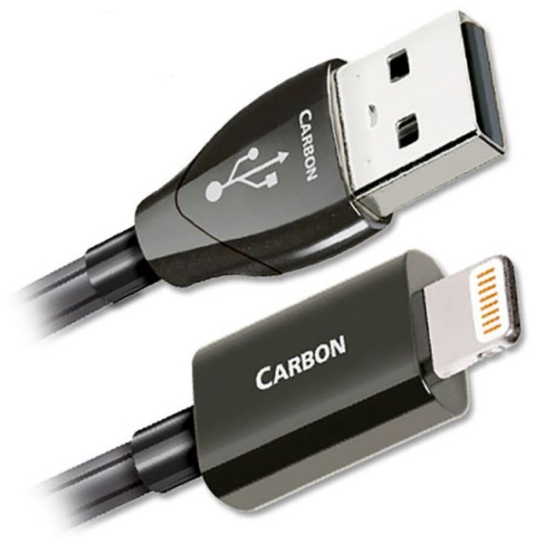 AudioQuest USB / Thunderbolt Καλώδιο Carbon Lighting 1.5μ.